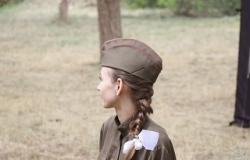 Празднование 73-ей годовщины Дня Победы в Великой Отечественной войне в поселке Красногвардейское