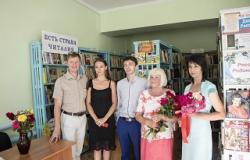 Миролюбовская библиотека в новом здании!